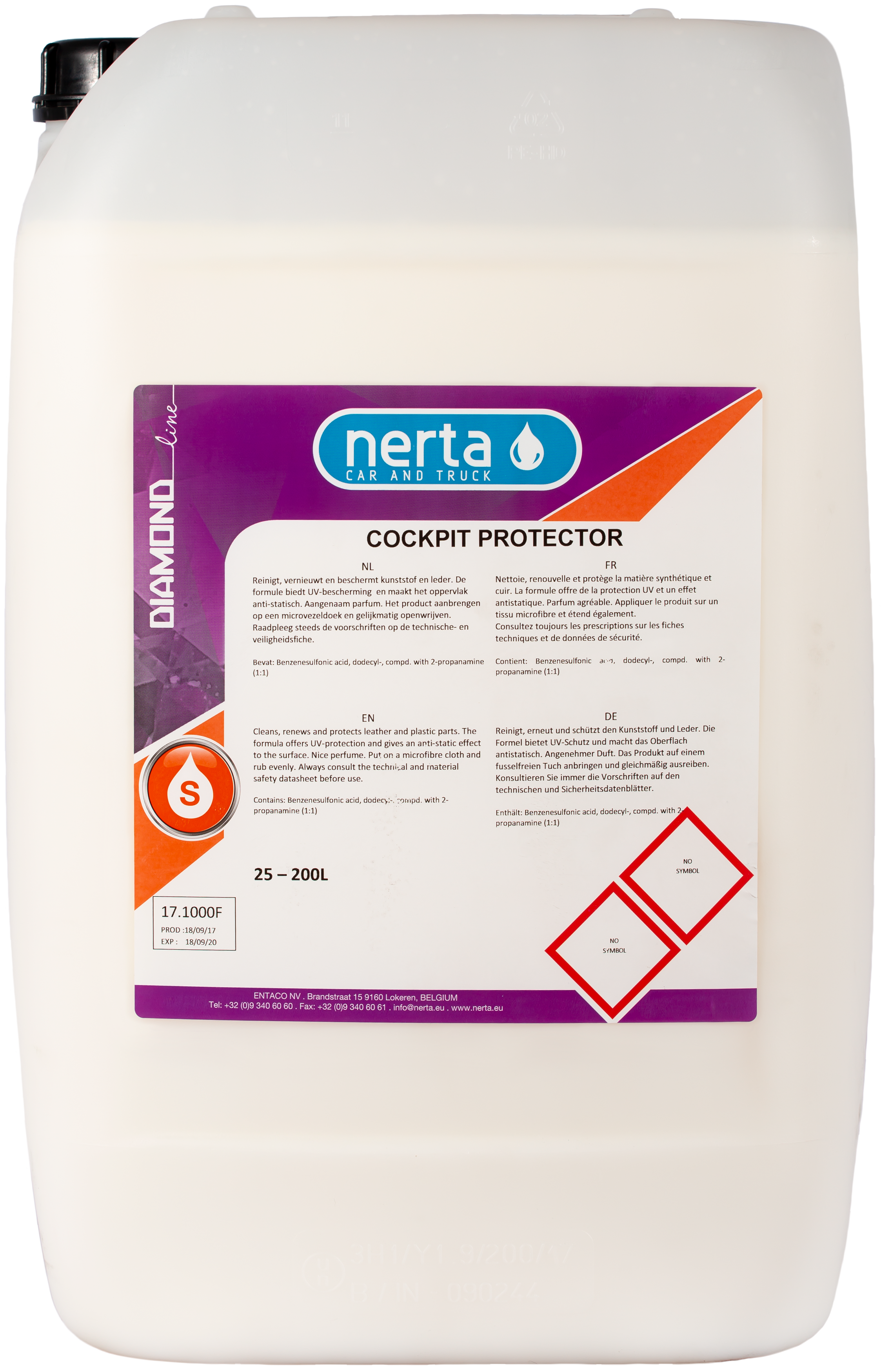 COCKPIT PROTECTOR - Nerta Professional cleaning products