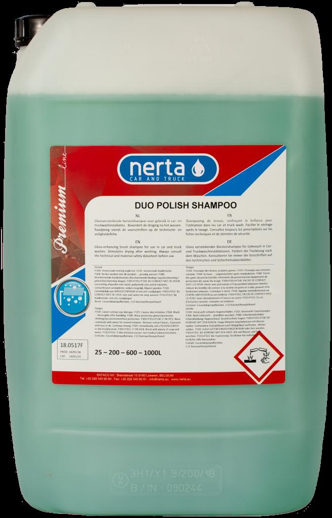 duo polish shampoo, nerta