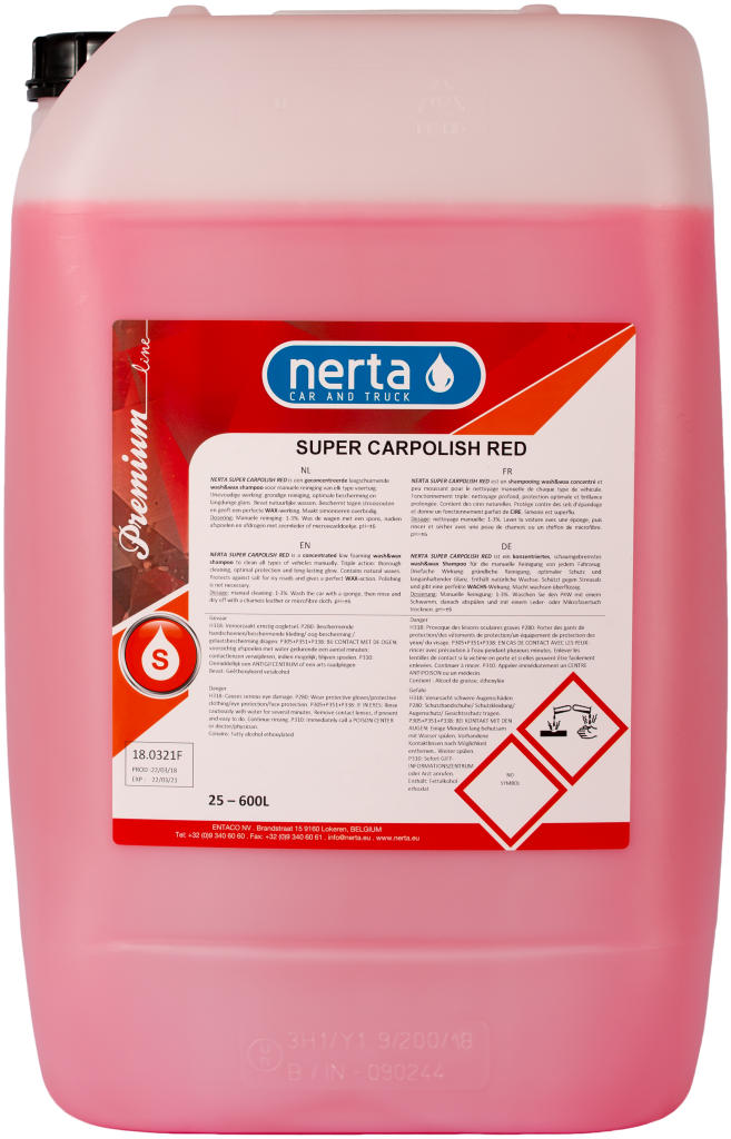 SUPER CARPOLISH RED