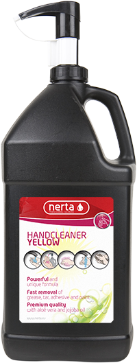 HandCleaner Yellow