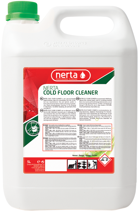 cold floor cleaner, nerta